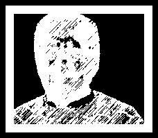 Grafik schwarz-weiss Foto