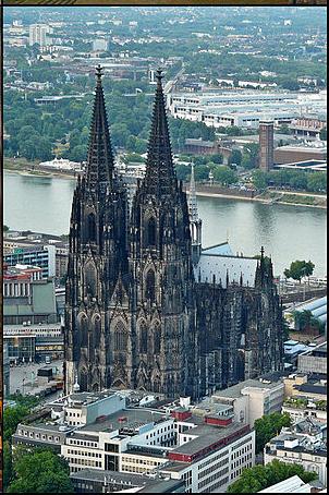 Grafik Kölner Dom